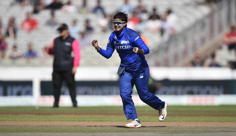 Deepti Sharma has taken eight wickets in the tournament so far