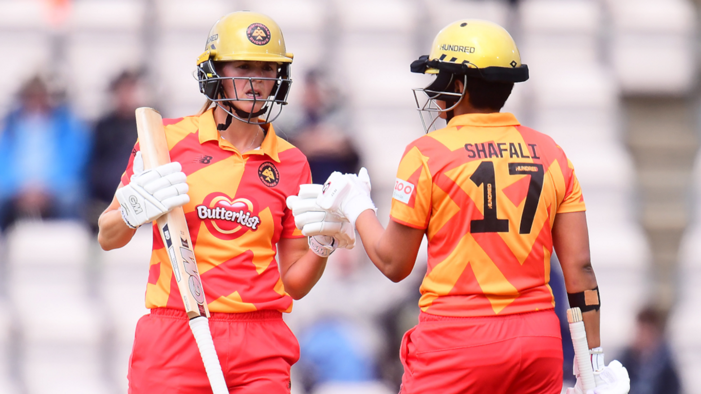 Evelyn Jones and Shafali Verma got themselves some big scores with the bat