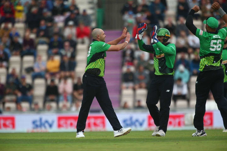 Jake Lintott was in wicket-taking mood