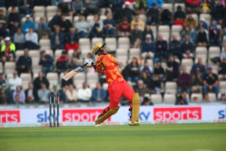 Birmingham's big-hitting Liam Livingstone in action
