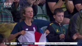 Devine wicket - b Ecclestone