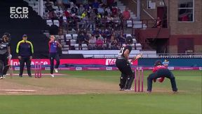 Bates wicket - B Farrant