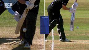 Devine wicket - lbw Dean