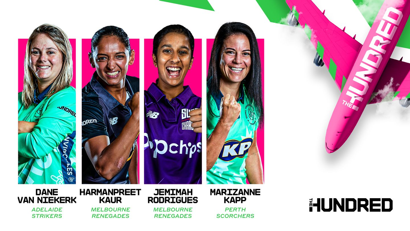 The Hundred players featuring in the WBBL